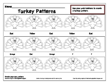 Turkey Patterns