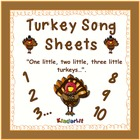 Turkey Song Sheet