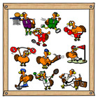 Turkey Sports Clip Art