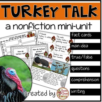 Turkeys - a nonfiction mini unit