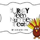 Turkey Teen Number Treats