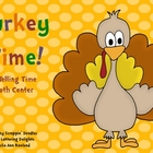 Turkey Time! A Telling Time Math Center