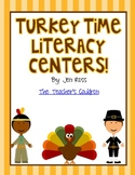 Turkey Time Literacy Centers