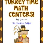 Turkey Time Math Centers