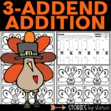 Turkey Trios (Addition with 3-Addends)