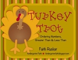 Turkey Trot - Ordering Numbers, Greater & Less Than