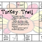 Turkey Trot!  Subtraction