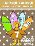 Turkey! Turkey! Show Us Your Number - Kindergarten Math Co