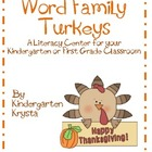 Turkey Word Family Center