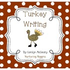 Turkey Writing (includes circle and tree maps)
