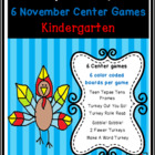 Turkeys and Tepees: 6 Common Core Center Games