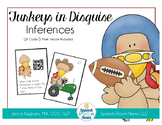 Turkeys in Disguise: Inferencing Speech Therapy Activity