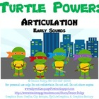 Turtle Power: Speech Language Bundle