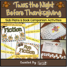Twas the Night Before Thanksgiving ~ Booktivities for the