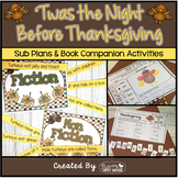 Twas the Night Before Thanksgiving ~ Activities for the Co
