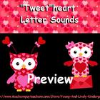 Tweetheart Beginning Letter Sounds for Promethean Board