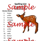 Two Days In May Spelling Activities (Prefixes and Suffixes)