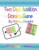 Two Digit Addition Domino Game (No Regrouping)