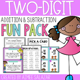 Two Digit Addition and Subtraction Fun Pack - Common Core Aligned
