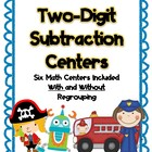 Two-Digit Subtraction Packet
