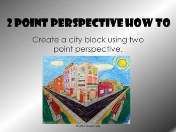 Two Point Perspective How To PowerPoint: Draw a City Block