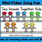 Two Vowels Together Rule Mini Video Fun