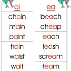Vowel Teams-Two Vowels Walking