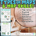 Types of Map- Social Studies grades 2-5