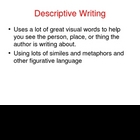 Types of Writing Ppt