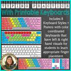 Typing Practice with Printable Keyboards