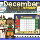UPDATED!! ACTIVBOARD Calendar Math- December (English)