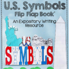 US American Symbols Flip-Flap Book - An Expository Writing