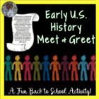 U.S. History Find Someone Who First Day, Review or End of