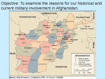 U.S. Involvement in Afghanistan PowerPoint Presentation