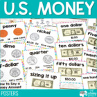 U.S. Money {Coins & Dollar} Posters