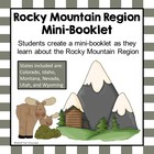 U.S. Regions - Rocky Mountain Region Booklet Printable Worksheets