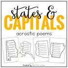 US State Acrostic Poems