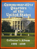 U.S. Statehood Quarters Collector's Album 1999-2008