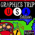 USA Graphics TRIP {Creative Clips Digital Clipart}
