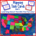 USA Mapping Task Cards