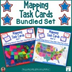 Mapping Task Cards USA - Combined Set