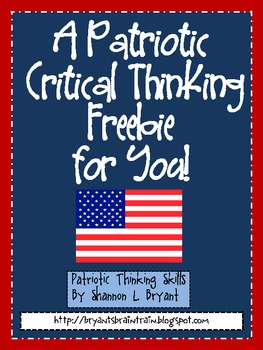 USA Patriotic Critical Thinking