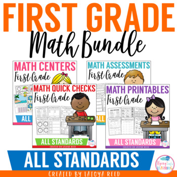http://www.teacherspayteachers.com/Product/Math-Common-Core-Mega-Pack-for-First-Grade-1151859