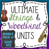 Ultimate Instrument Family Bundle #1- Strings and Woodwinds