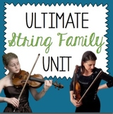 Ultimate String Family Unit- Presentations- Videos- Worksheets