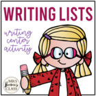 Ultimate Word List Set {For Your Writing Center}