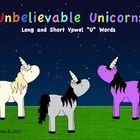 "Unbelievable Unicorns (Short and Long ""U"" Words)"