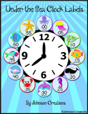 Under the Sea Clock Labels