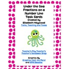 Under the Sea Fraction Number Line