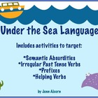 Under the Sea Language Packet